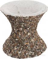 Стойка для чаши декорированная галькой 30x30 см T10924778