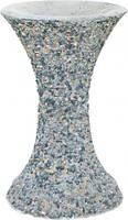 Стойка для чаши декорированная гранитной крошкой 30x49 см T10924781
