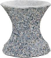 Стойка для чаши декорированная гранитной крошкой 30x30 см T10924779