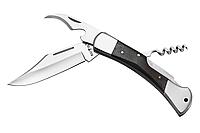 Классический многофункциональный складной нож Щучка, для пикника и туризма, отлично подарок активному мужчине