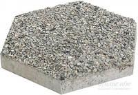 Тротуарная плитка АртБетон Шестигранник декорированная гранитной крошкой 35x35x5 см T10429777