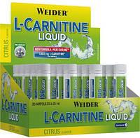 Weider L-Carnitine Liquid 20x25ml, фото 1