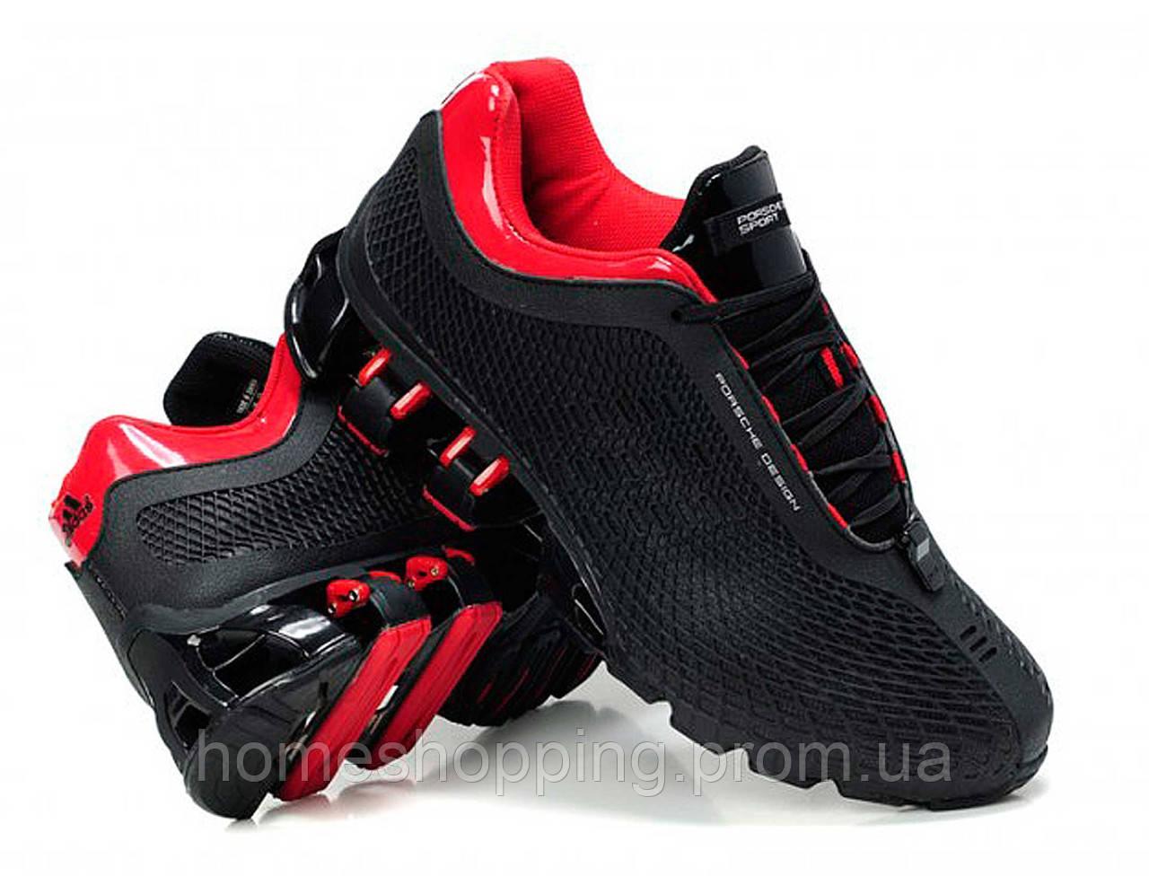 Кроссовки мужские Adidas Porsche Design P5000 Bounce S2 Black Red