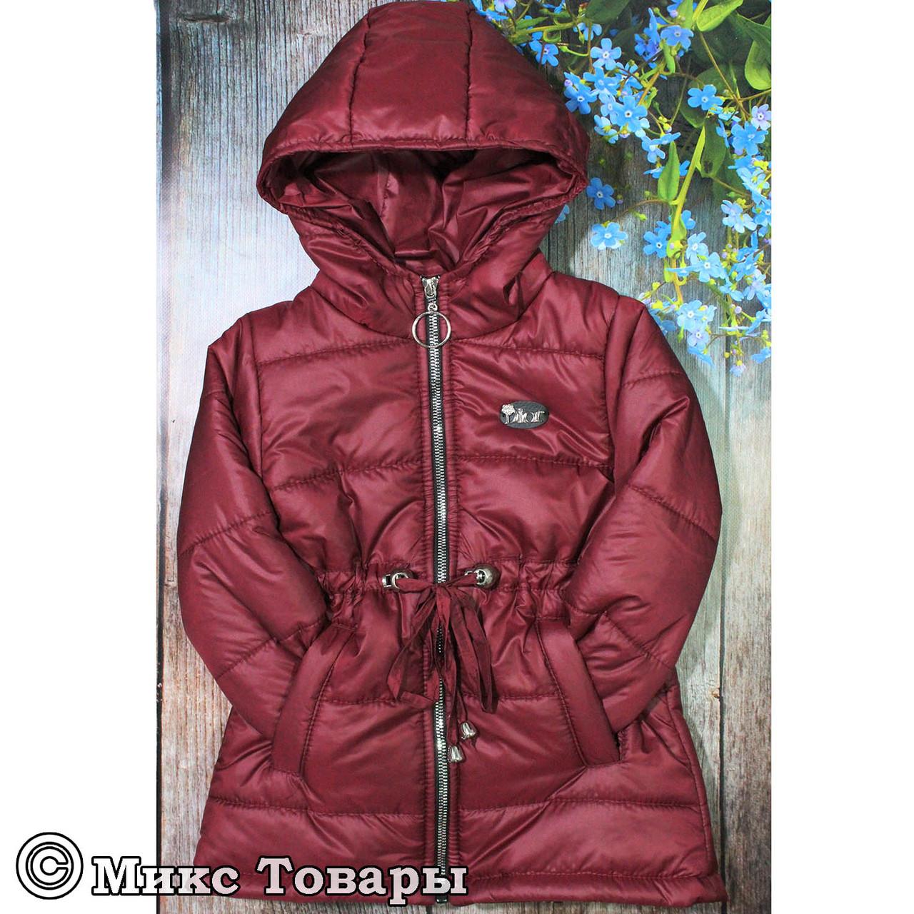 Детская курточка с капюшоном для девочки Размеры: 92,98,104,110,116 см (UA22016-6)