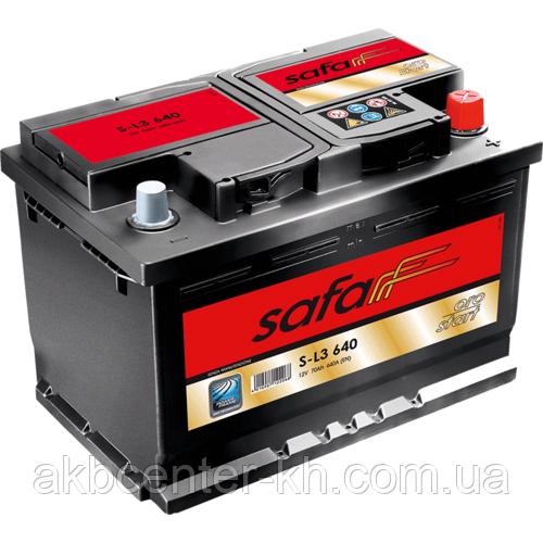 Автомобильный аккумулятор SAFA ORO Start 6CT- 70A2 640A R