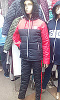 Костюм женский плащевка 46-48р зима