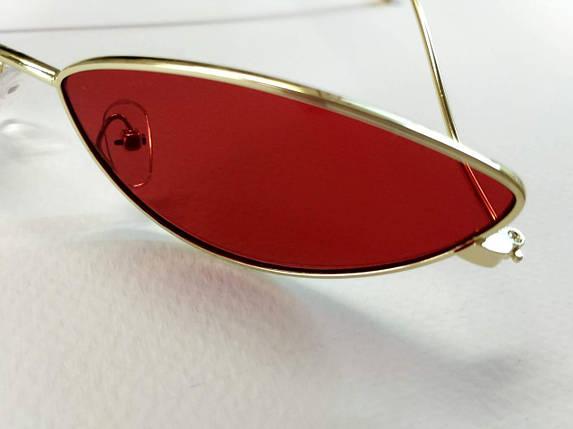 Красные очки в стиле скайфай, фото 2