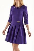 Платье с расклешенной юбкой, Flora 46р, фото 1