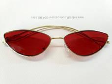 Красные очки в стиле скайфай