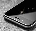 Захисне скло для Apple iPhone 8\SE2020 повне покриття чорне .біле, фото 2