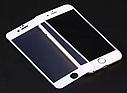 Захисне скло для Apple iPhone 8\SE2020 повне покриття чорне .біле, фото 5