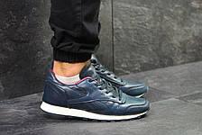 Мужские кроссовки Reebok кожаные,синие с красным 41,44р, фото 2