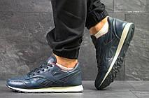 Мужские кроссовки Reebok кожаные,синие с красным 41,44р, фото 3