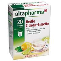 Altapharma Heiße Zitrone-Limette - Горячий напиток лимон и лайм