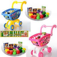 Игровой набор тележка супермаркет c продуктами