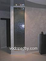 Интерьерный водопад по зеркалу