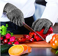 Безопасные Кухонные Перчатки с Защитой от Порезов Суперпрочные Рукавицы Cut Resistant Gloves