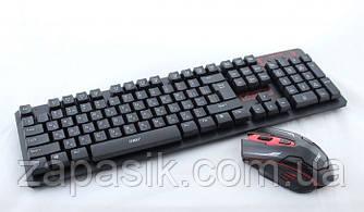 Беспроводная Компьютерная Клавиатура и Мышь Keyboard HK6500