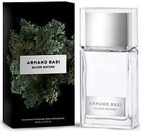 Мужская туалетная вода Armand Basi Silver Nature (глубокий ориентально-фужерный аромат)