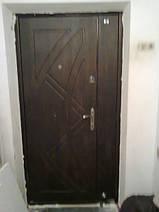 Монтаж полуторной двери Саган по адресу г. Днепропетровск, пос. Илларионово, ул. Толстого 9-а
