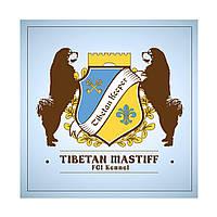 Дизайн логотипа питомника собак (тибетский мастиф)