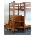 """Двох'ярусне ліжко з драбиною-комодом """"П'єро"""", фото 3"""