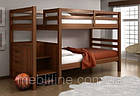 """Двох'ярусне ліжко з драбиною-комодом """"П'єро"""", фото 5"""
