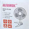 Бытовой Настольный Вентилятор с Прищепкой Alfasonic Электровентилятор am, фото 6
