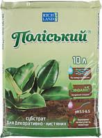 Субстрат Поліський для декоративно-листяних рослин 10 л T10502696
