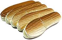 Стельки для обуви ШЕРСТЬ 100% на фольге, зимние стельки