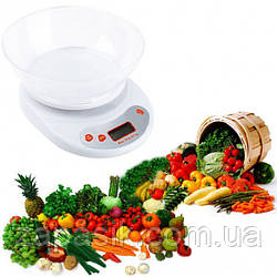Весы Кухонные с Чашей ACS KE 1 до 5 кг