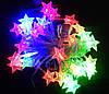 Внутренняя Светодиодная Гирлянда Звездочки на Елку Новогодняя 40 LED Мульти, фото 3