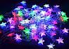 Внутренняя Светодиодная Гирлянда Звездочки на Елку Новогодняя 40 LED Мульти, фото 5