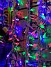 Внутренняя Светодиодная Гирлянда Звездочки на Елку Новогодняя 40 LED Мульти, фото 6