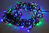 Внутренняя Светодиодная Гирлянда Нить Многоцветная на Елку 140 Led Лампочек Мульти am, фото 2