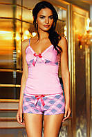 Женская пижама, костюм домашний майка с шортами Sahinler B475
