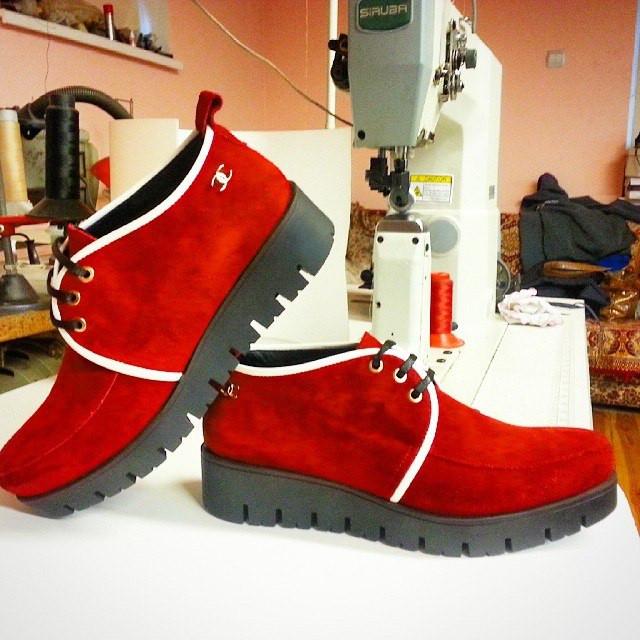 Пошив осенних ботинок