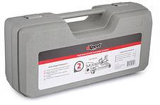 Домкрат гидравлический подкатной Expert (Miol) E-80-101 140-320мм 7кг 2т в кейсе