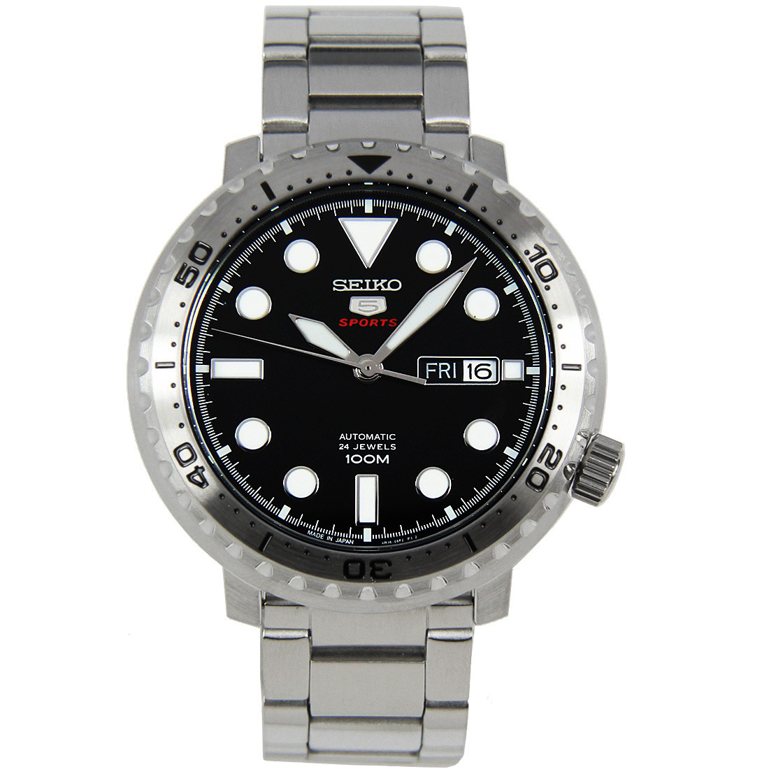 Часы Seiko 5 Sports SRPC61J1 Automatic 4R36 Bottle Cap