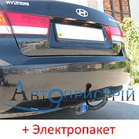 Фаркоп - Hyundai Sonata NF Седан (2005-2010) съемный на 2 болтах, фото 1