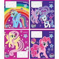 Тетрадь Kite My Little Pony 12 листов клетка LP18-232