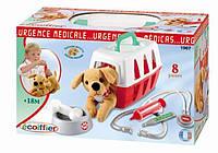 Игровой набор 'Ветеринарная клиника' с переноской для щенка, 8 аксес., 18мес.+