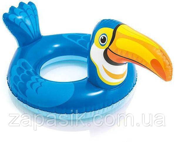 Детский Надувной Пляжный Круг Intex Пеликан