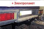 Фаркоп - Мікроавтобус Iveco Daily (1999-2006) з'ємний на 2 болта на пластині кований