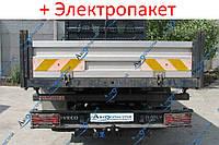 Фаркоп - Iveco Eco Daily Бортовой (2006-2014) съемный на 2 болтах на пластине литой