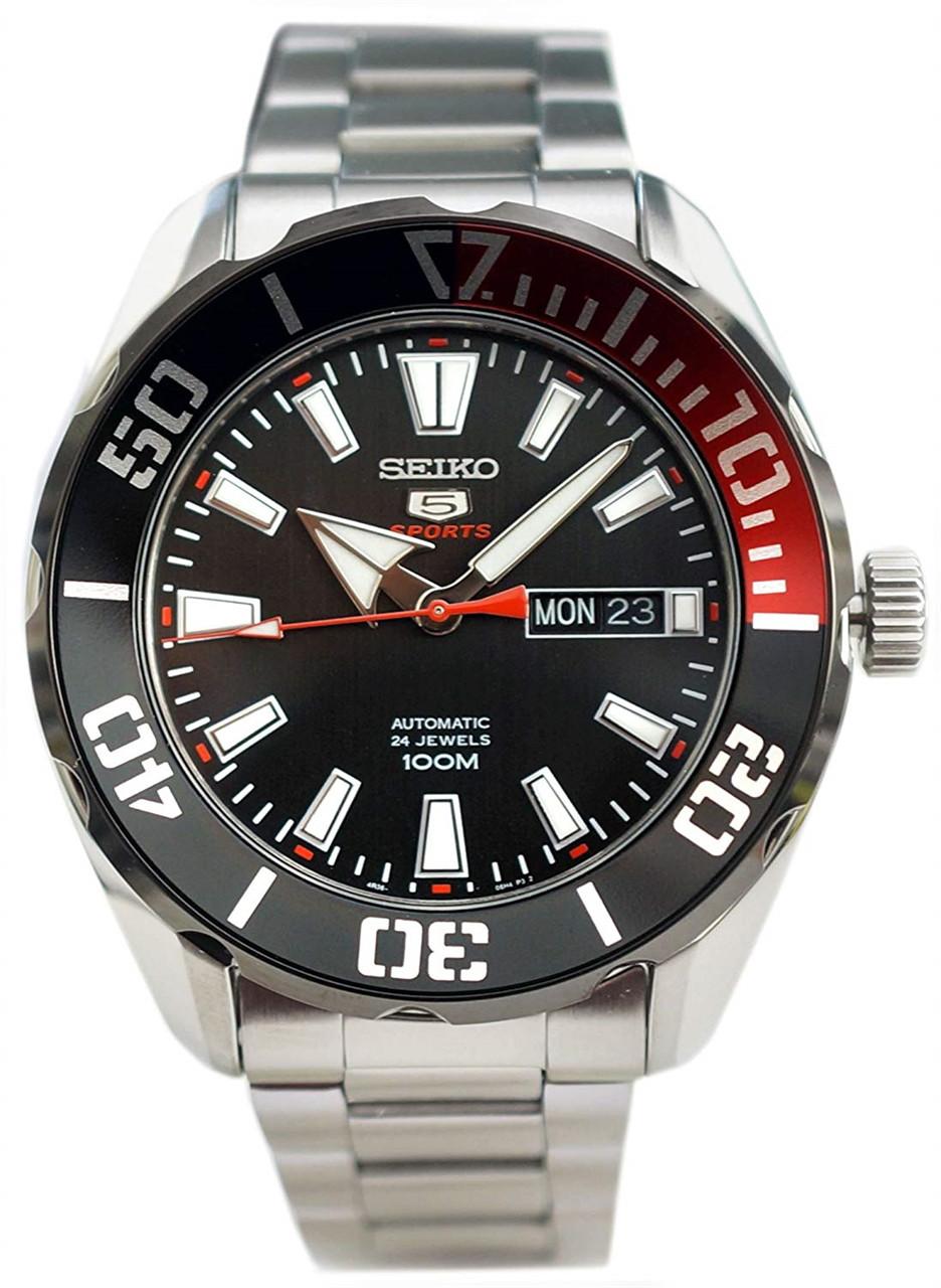 Часы Seiko 5 Sports SRPC57K1 Automatic 4R36
