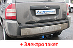 Фаркоп - Jeep Compass Кроссовер (2006-2016) съемный на 2 болтах