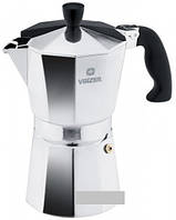 Кофеварка гейзерная VINZER, 9 чашек 89387, алюминий