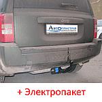 Фаркоп - Jeep Patriot (MK74) Кроссовер (2006-2010) съемный на 2 болтах