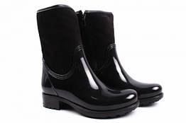 Ботинки Mida резиновые, цвет черный